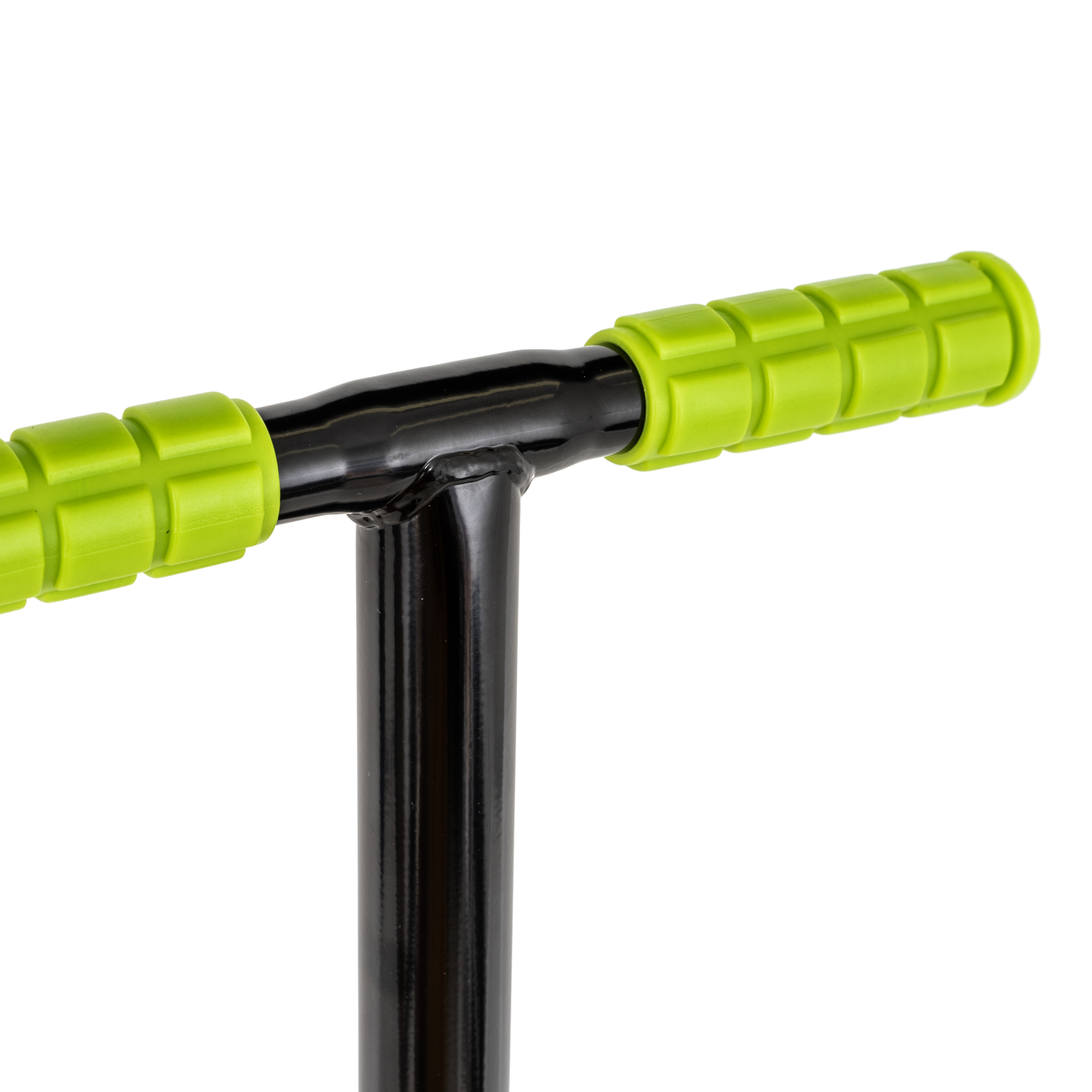 Qu-Ax Hüpfstange Sprungstangen Pogo Stick Schwarz für Kinder bis 80Kg NEU 4008